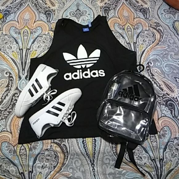 ac008e4004 Handbags - Mini Adidas clear backpack